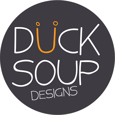 duck soup design logo